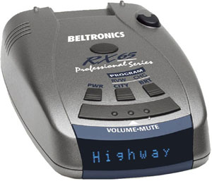 Beltronics RX65A blue