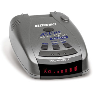 Beltronics RX65A red